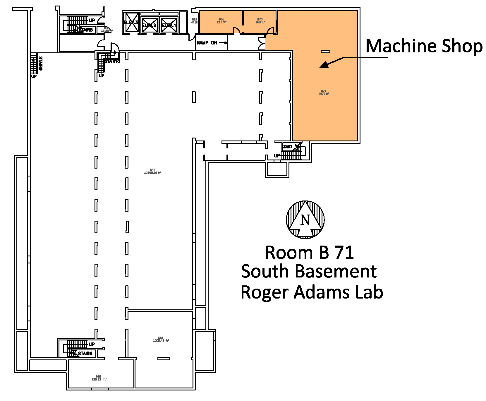 Machine shop location
