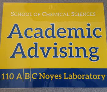SCS Academic Advising Sign