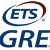 Logo of the ETS GRE exam