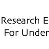 REU Research Experiences for Undergraduates NSF logo