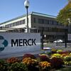 Picture of Merck sign